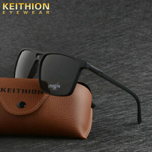 KEITHION-TR-90-Square-Polaried-Men-Sunglasses-Driving-Fishing-Outdoor-Eyewear