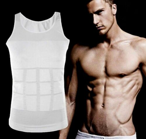 Mens Best Gynecomastia Vest for Man Boobs Moobs Breast Reduction Tank Shirt Top