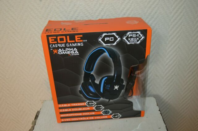 Helm Micro EOLE C19 Alpha Omega Players Gaming Headset Neu PS4 PC Xbox One