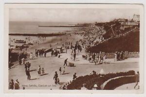 Essex-postcard-West-Sands-Clacton-on-Sea-P-U-1929-A335