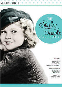 The Shirley Temple Collection Volume 3 - New 6 Disc DVD Set, Rare, Out of Print!