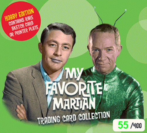 My Favorite Martian Trading Cards Sealed Hobby Box //400