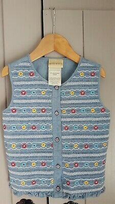 Amichevole Laura Ashley Mother & Child Infant Ragazze Multicolore Con Gilet/top-mostra Il Titolo Originale