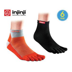 6-Pair-Injinji-Performance-Mini-Crew-Toe-Socks-with-Mid-Foot-Arch-Support