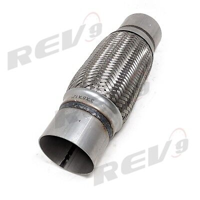 Rev9 3.5x6x10 inch Stainless Steel Flex Pipe Exhaust Couplings With Mild Ste