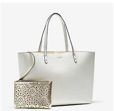 New Victoria's Secret Large white/gold Limited Edition 2017 Tote Shoulder Bag