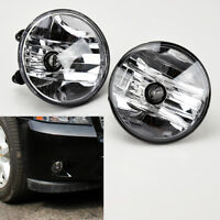 Chevy Avalanche Tahoe Suburban Gmc Yukon Replacement Round Fog Lights 07-14
