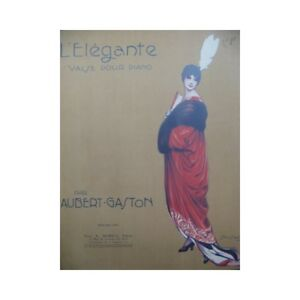 Antiquarische Noten/songbooks Aubert Gaston Das Elegante Pousthomis Piano 1915 Partitur Sheet Music Score