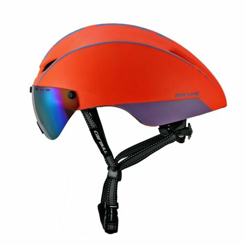 Mountain Cycling Helmet Bike Bicycle MTB Road Bike Helmets Hat Removable Goggles
