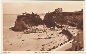 NEWQUAY  The Island  Raphael Tuck NY253  Cornwall  1947 used postcard - <span itemprop=availableAtOrFrom>Lincoln, United Kingdom</span> - NEWQUAY  The Island  Raphael Tuck NY253  Cornwall  1947 used postcard - Lincoln, United Kingdom