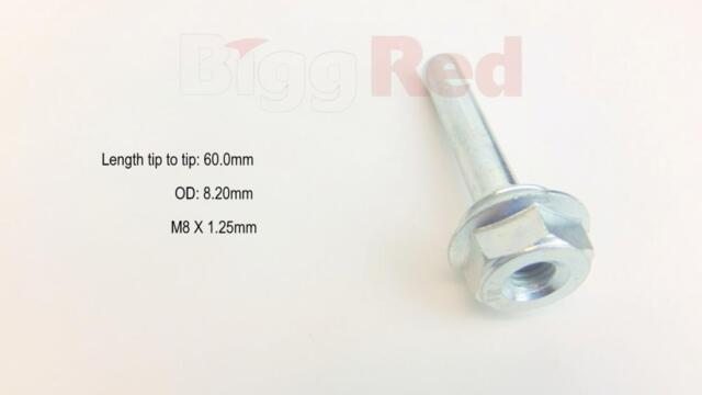 FRONT Brake Caliper Slider Bolt Pin Kit for SEAT AROSA 1.4 TDi 2000-04 H1301X
