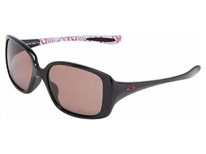 Oakley-LBD-Breast-Cancer-Awareness-Polarized-Sunglasses-OO9193-12-Black-OO-Grey