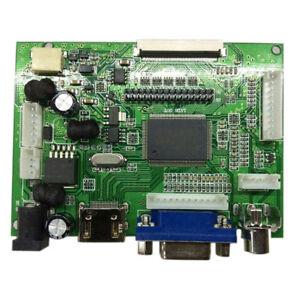 Mini LCD Controller Board HDMI VGA AV For Drive LVDS/TTL Display Screen UK Stock 1904811914251