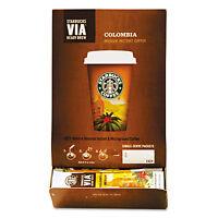 Starbucks Via Ready Brew Coffee 3/25oz Colombia 50/box 11008131 on sale