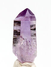 Vera Cruz Amethyst Quartz Crystal Mineral Specimen Las Vigas MEXICO w/ ID card