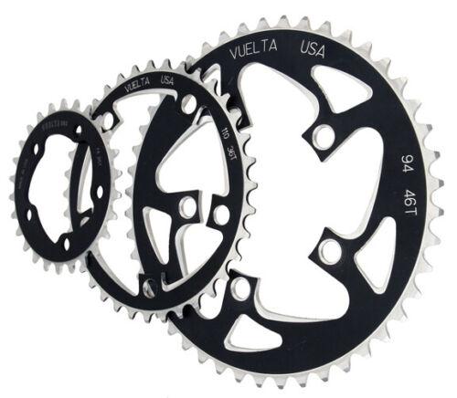 Vuelta Mtn flat chainring 94BCD 34T black