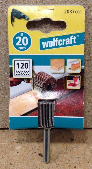 Wolfcraft Fächerschleifer  K 120, 20 x 20 mm  Schleifen Polieren 2037000