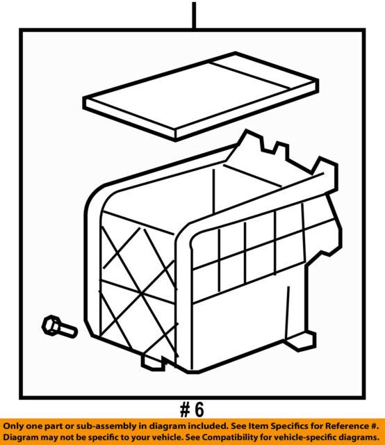 Honda Genuine 83456-SWA-A01ZB Center Console Box Assembly