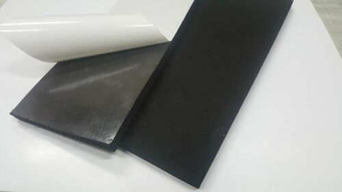 "2 PACK CLOSED CELL SPONGE NEO//EPDM 3//16 X4-1//2X6/"" ADHESIVE 1 SIDE FREE SHIPPING"