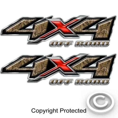 Sticker 4x4 Duck Hunting Max Grass Camouflage Truck Decal for Silverado Sierra