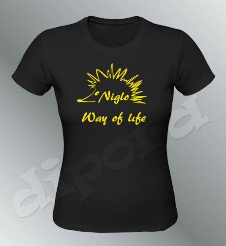 Tee shirt personnalise Hérisson Niglo S M L XL femme gens voyage Gipsy way life