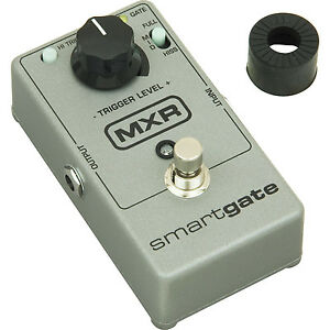 dunlop mxr smart gate m135 noise gates guitar effect pedal free cable ebay. Black Bedroom Furniture Sets. Home Design Ideas