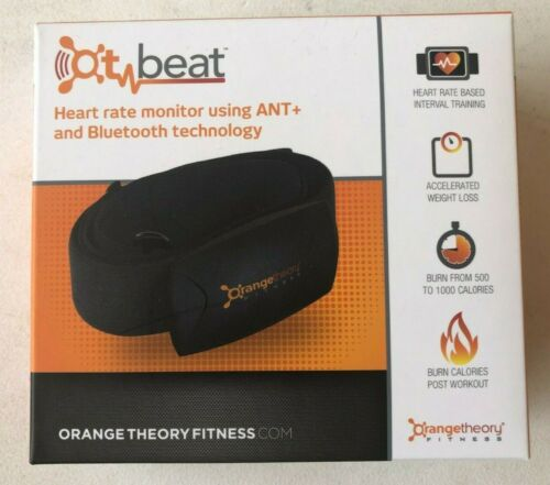 Size M-XXL Orange Theory Fitness OT Beat ANT Bluetooth Chest Heart Rate Monitor