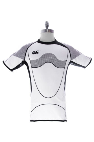 Canterbury of New Zealand White Sublimate Test Jersey Rugby Shirt B13876 $90