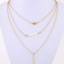 Women-Gold-Silver-Plated-Multi-Layer-Round-Long-Drop-Chain-Pendant-Necklace thumbnail 122