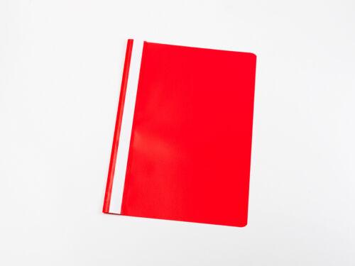 rot 100 PVC Schnellhefter DIN A4 Farbe