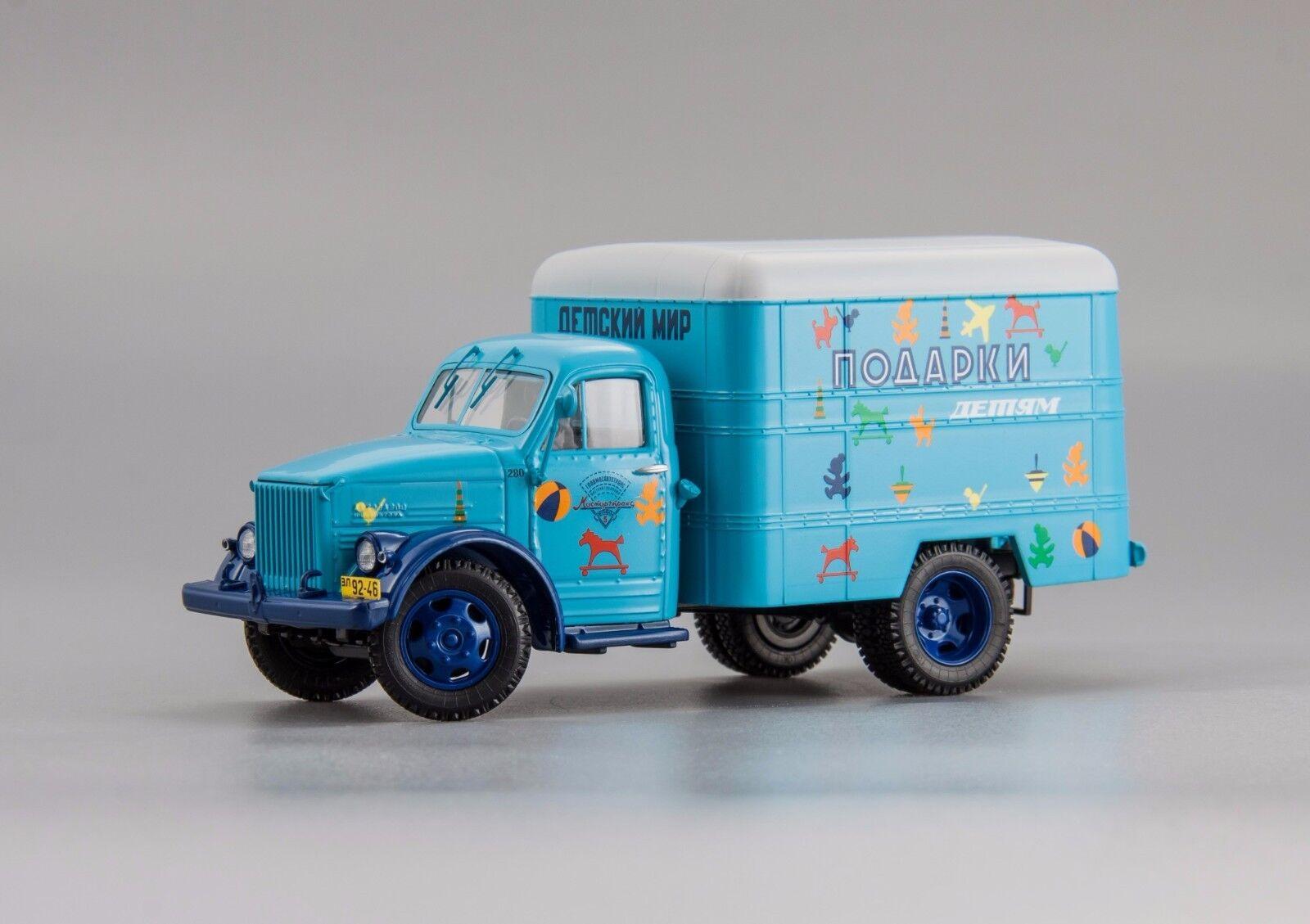 Газ - 51 фургон  подарки    gaz-51 van dip - modelle 1   43 lim.300 stk. selten