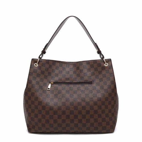 Designer Inspired Checker board Slouch bag Various colours