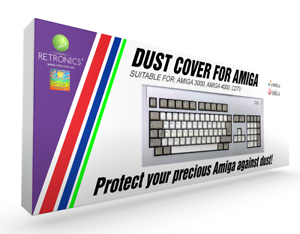 Dust cover for AMIGA 2000 4000 high quality!!! brand new 3000 CDTV