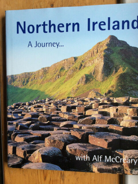 Northern Ireland: A Journey by McCreary, Alf Hardback Book excellent condition