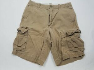 Roundtree-amp-Yorke-Mens-Shorts-Size-30-Cargo-Brown