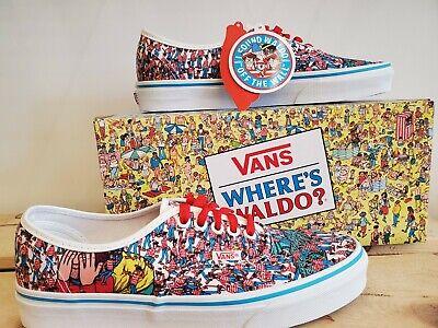 Vans Authentic Where's Waldo x Vans Limited Edition Shoes for Men | eBay