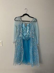 NWT Disney Store Girls Princess Dress Gown Costume ELSA Size 14//16 Frozen