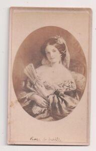 Vintage-CDV-Album-Filler-034-The-Rose-of-Seville-034