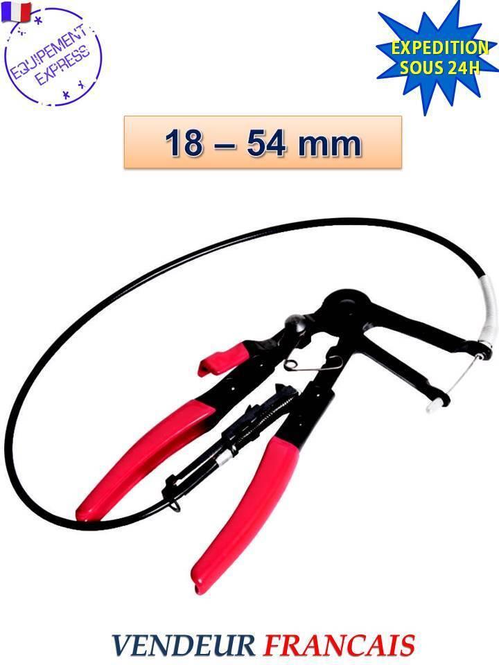 Horst Lager  -zange Kabel (630mm) für Halskette Schlauch spannbar 18-54 mm