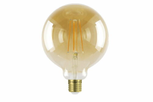 1800K 380lm E27 Dimmable Lamp Integral Sunset Vintage Globe 125mm 5W 40W