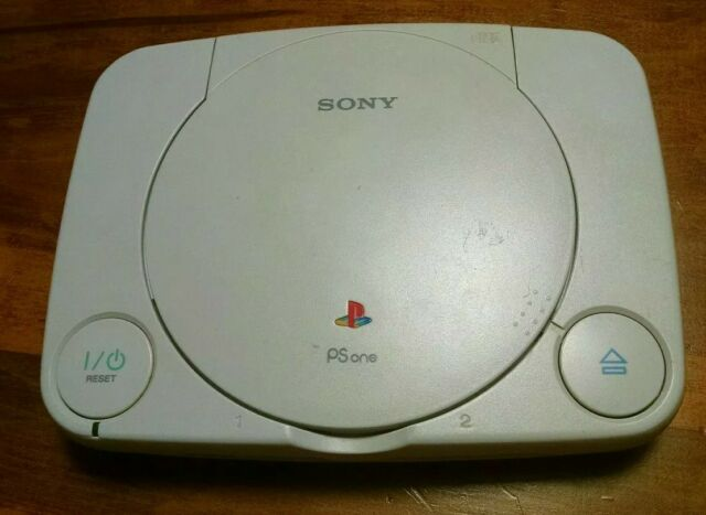 Sony Playstation PS One PS1 Mini Slim-(SCPH-101)Console ONLY FOR PARTS/REPAIR
