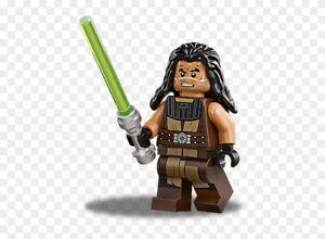 LEGO-Star-Wars-Clone-Wars-Super-Rare-Quinlan-Vos-Minifig-75151-Excellent