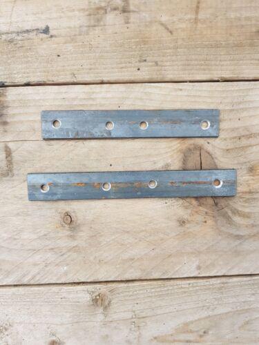 2 x Metal Heavy Duty 100x20x3 mm//Flat bar Brace Brackets//Repair Stretcher plate