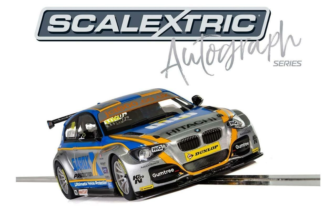 Scalextric - C3862AE - BTCC BMW 125 Series 1 Rob Collard Autograph Series