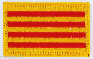 Patch Ecusson Brode Drapeau Catalan Catalogne Insigne Thermocollant Neuf Flag Xa2af2iy-07222539-863529227