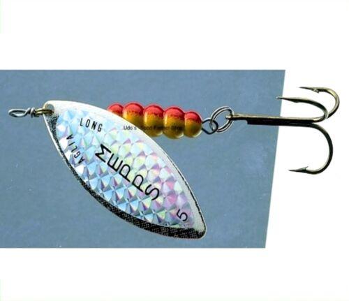 Mepps Spinner Aglia Longue Rainbow silber