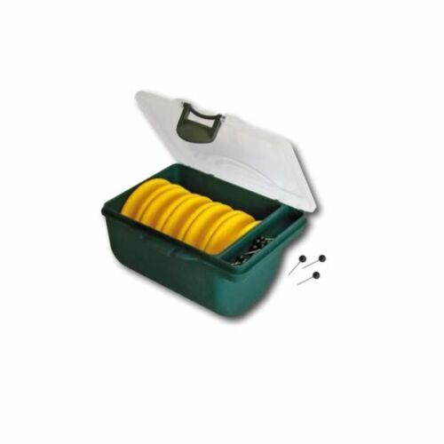 Behr Vorfach Aufwickler Gelb 5 Aufwickler 55mm 10 Nadeln in passender Box