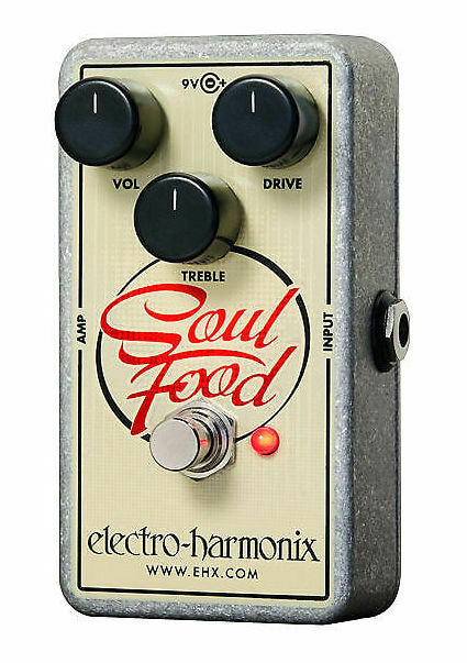 Electro-Harmonix Soul Food BRAND NEW WITH WARRANTY  FREE 2-3 DAY S&H IN U.S