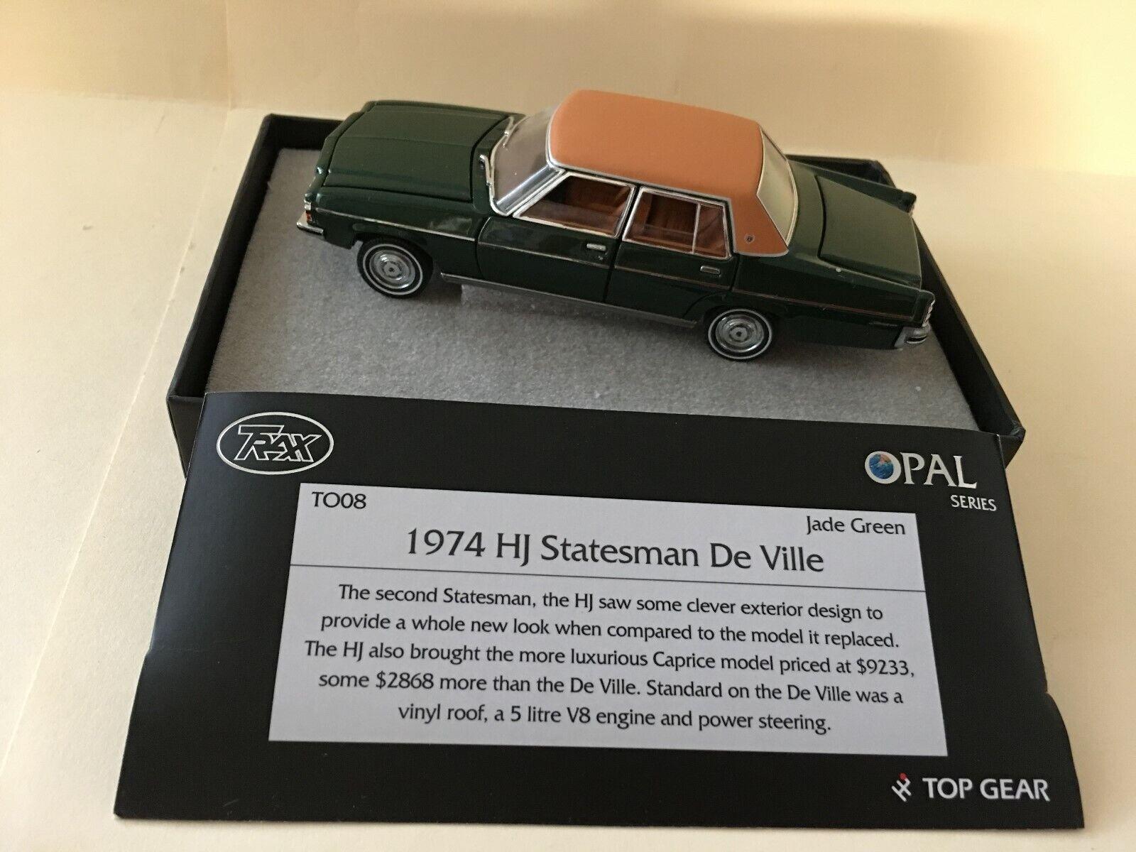 1 43  TRAX T008 1974 HJ Statesman De Ville