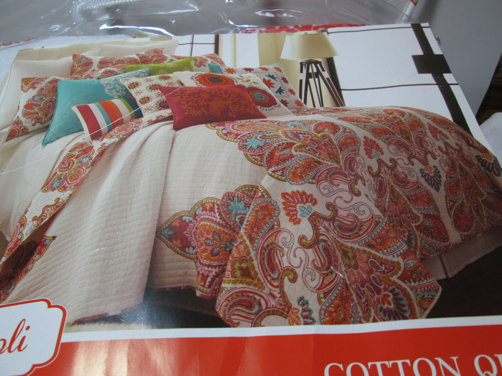 New Tivoli Twin Cotton Quilt 68